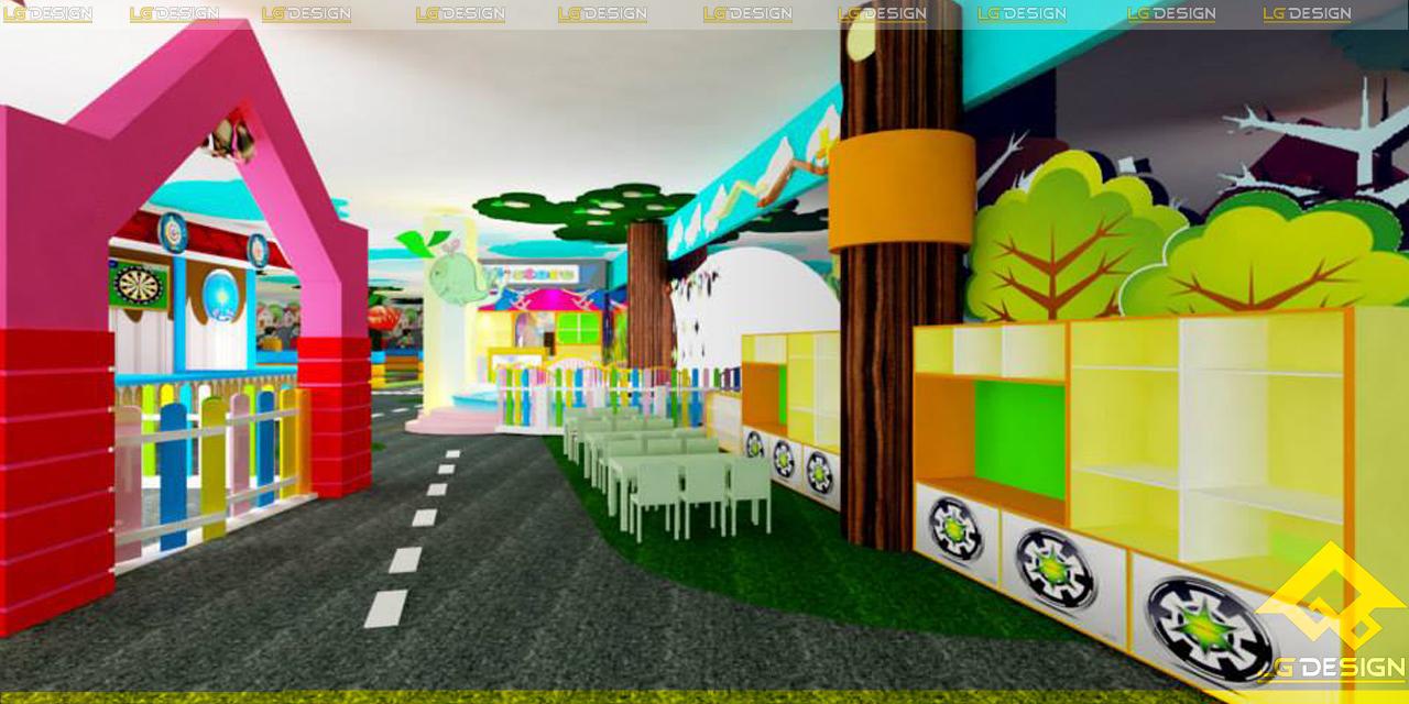 Thiết kế khu vui chơi Tini World Pandora