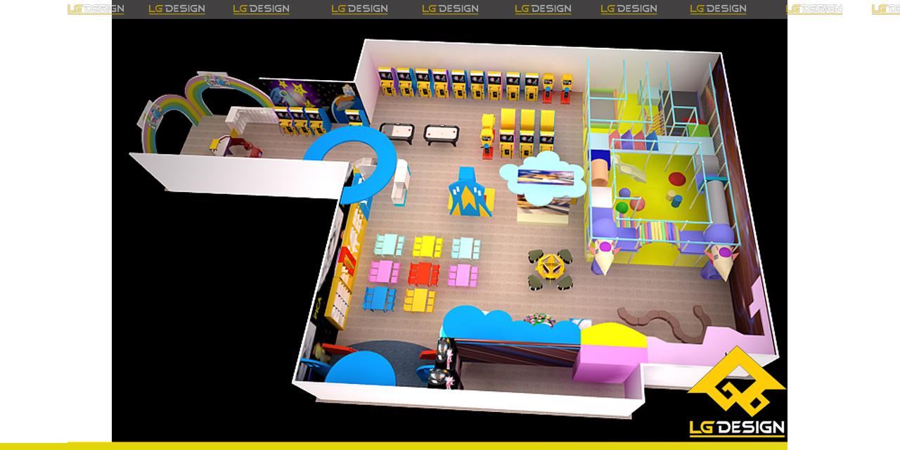 Hình ảnh 3D khu vui chơi TiNi tại Coop Mart Hải Phòng
