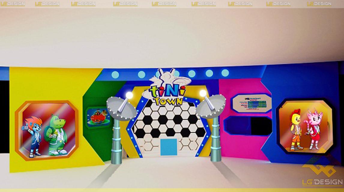 Hình ảnh thiết kế khu vui chơi TiNiWorld Aeon Tân Bình