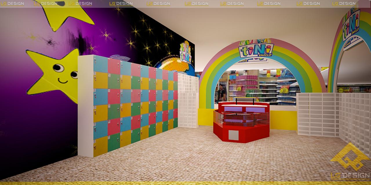 Thiết kế khu vui chơi Tini CoopMax Hải Phòng