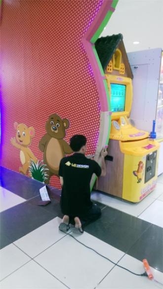 THIẾT KẾ KHU VUI CHƠI HAPPY BEER BIG C ĐỒNG NAI